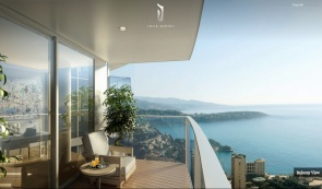 Monaco-Penthouse-glass-panelled-balcony-with-ocean-views1