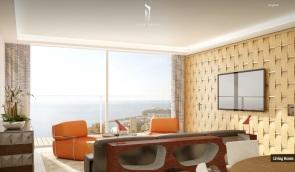 Monaco-Penthouse-retro-inspred-sitting-area-with-ocean-views
