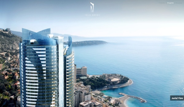 Monaco-Penthouse-tower-summit-with-medditerranean-views