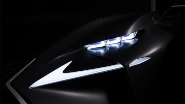 صورة تشويقية تطلقها Lexus لمفهومية جديدة ستكشف عنها في معرض فرانكفورت للسيارات 2013