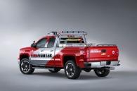 Volunteer Firefighters Chevrolet Silverado Double Cab Concept