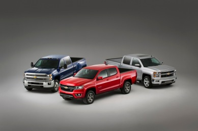 2015 Chevrolet Colorado rounds out the industry's only three-truck portfolio