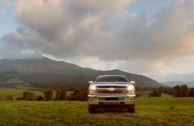 2015 Chevrolet Silverado 2500 HD LTZ crew cab pickup