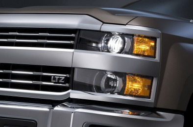 2015 Chevrolet Silverado 3500 HD LTZ crew cab pickup with dual r