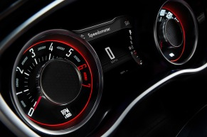 "2015 Dodge Challenger ""Tic-Toc-Tach""-inspired gauges"