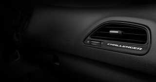 2015 Dodge Challenger vent badging