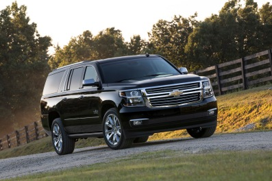 2015 Chevrolet Suburban Texas Edition