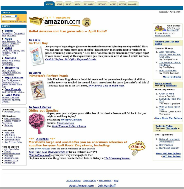 Amazon.com  Online Shopping for Electronics  Apparel  Computers  Books  DVDs   more